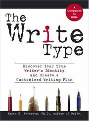 Cover of: The Write Type