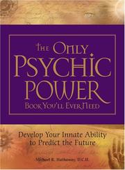 Cover of: The Only Psychic Power Book You