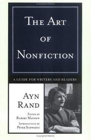 Cover of: The Art of Nonfiction