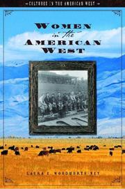 Cover of: Women In The American West (Cultures in the American West) | Laura Woodworth-Ney