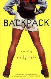 Cover of: Backpack | Emily Barr