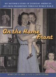 Cover of: On the home front | Mary Jo Clark