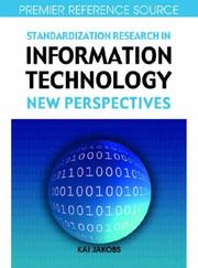 Cover of: Standardization Research in Information Technology | Kai Jakobs