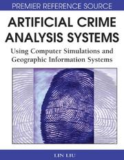 Cover of: Artificial Crime Analysis Systems |