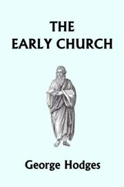 Cover of: The Early Church