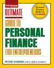 Ultimate Guide to Personal Finance for Entrepreneurs by Peter Sander, J. Jeffrey Lambert
