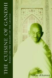 Cover of: The Cuisine of Gandhi