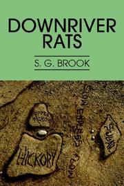 Cover of: Downriver Rats | S. G. Brook