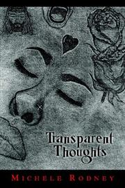 Cover of: Transparent Thoughts | Michele Rodney