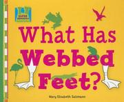 Cover of: What Has Webbed Feet? (Creature Features)