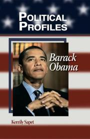 Cover of: Barack Obama (Political Profiles) | Kerrily Sapet