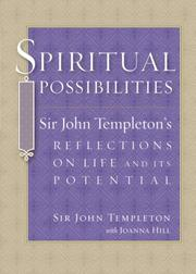 Cover of: Spiritual Possibilities