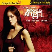 Cover of: Rogue Angel # 3 - The Spider Stone (Rogue Angel)