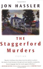 Cover of: The Staggerford murders ; The life and death of Nancy Clancy's nephew