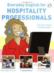 Cover of: Everyday English for Hospitality Professionals | Lawrence J. Zwier with Nigel Caplan