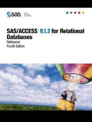 Cover of: SAS/ACCESS(R) 9.1.3 for Relational Databases
