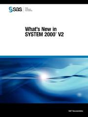 Cover of: What's New in SYSTEM 2000(R) V2