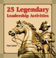 Cover of: 25 Legendary leadership Activities