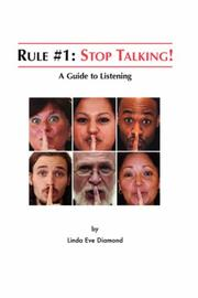 Rule#1: Stop Talking! by Linda, Eve Diamond