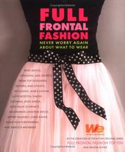 Cover of: Full Frontal Fashion | Melissa Sones