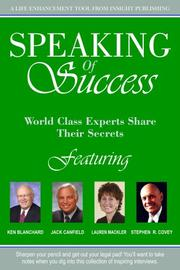 Cover of: Speaking of Success | Lauren Mackler