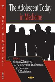 Cover of: The Adolescent Today in Medicine | Nicolas Zdanowicz