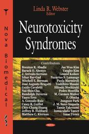 Cover of: Neurotoxicity Syndromes | Linda R. Webster