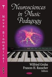 Cover of: Neurosciences in Music Pedagogy |