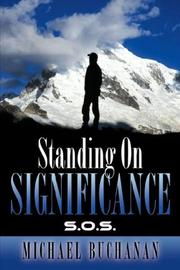 Cover of: Standing On Significance | Michael Buchanan