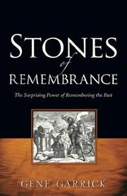 Cover of: Stones of Rememberance | Gene Garrick