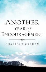 Cover of: Another Year of Encouragement | Charles, Graham