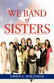 Cover of: We Band of Sisters | Gwen, C Rollings