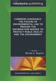 Cover of: COMMONS IGNORANCE
