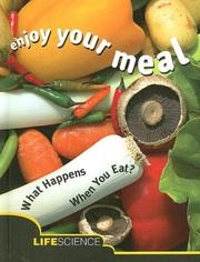Cover of: Enjoy Your Meal | Emily Mcgregor