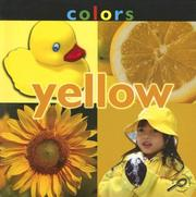 Cover of: Colors Yellow (Concepts) | Esther Sarfatti