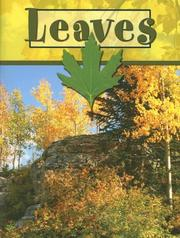 Cover of: Leaves (Plant Parts)