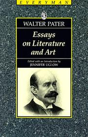 Cover of: Essays on Literature and Art