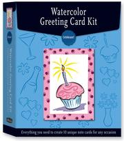 Cover of: Watercolor Greeting Card Kit: Celebrate!