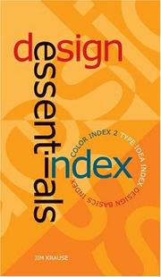 Cover of: Design Essential Index (Kit)