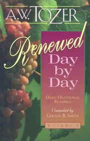 Cover of: Renewed Day by Day | A. W. Tozer
