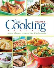 Cover of: Fine Cooking Annual