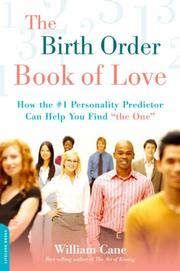 The birth order book of love by William Cane
