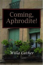 Cover of: Coming, Aphrodite!