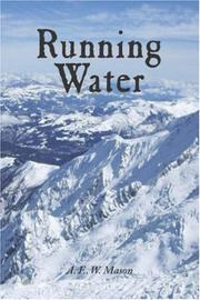 Cover of: Running Water | A. E. W. Mason