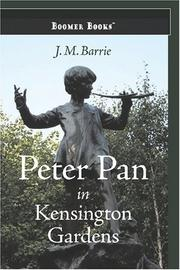 Cover of: Peter Pan in Kensington Gardens