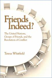 Cover of: Friends Indeed?