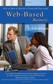 Cover of: How to Open & Operate a Financially Successful Web-Based Business | Beth Williams