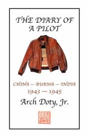 Cover of: The Diary of a Pilot | Arch Doty Jr.