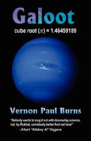 Cover of: GALOOT | Vernon, Paul Burns