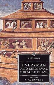 Cover of: Everyman, and medieval miracle plays